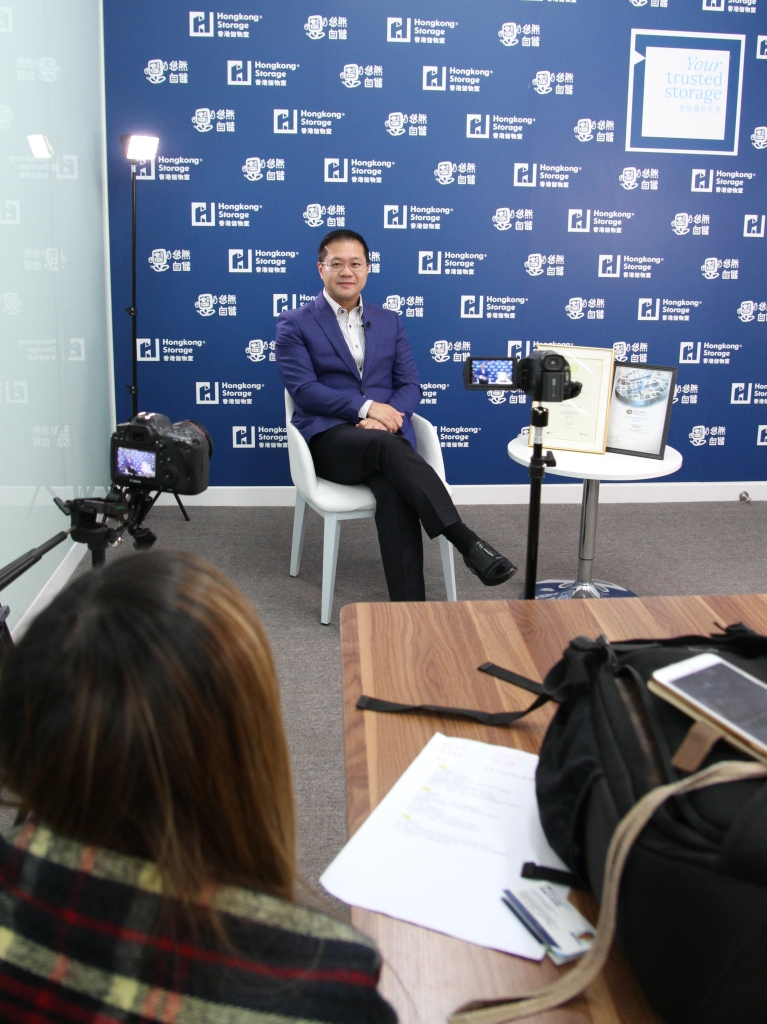 Managing Director was interviewed by Hong Kong Q-Mark Council