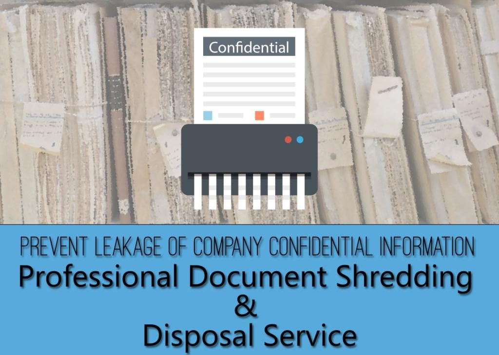 Hongkong Storage - Professional Document Shredding & Disposal Service