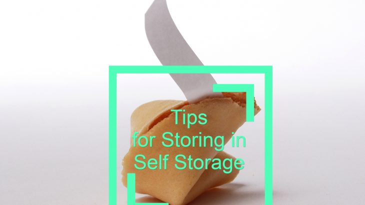 Tips for Storing in Self Storage