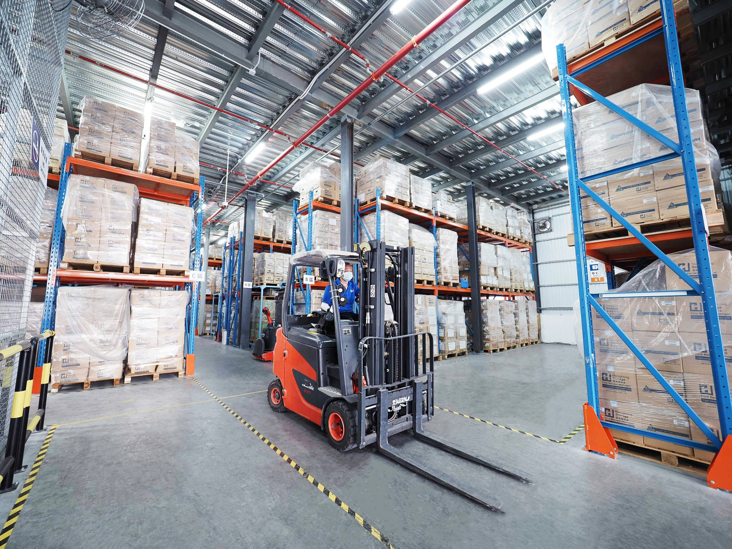 The New Hongkong Storage Integrated Logistics Centre – 2nd Phase in Service